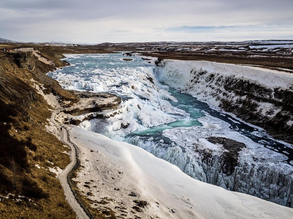Gullfóss, Iceland