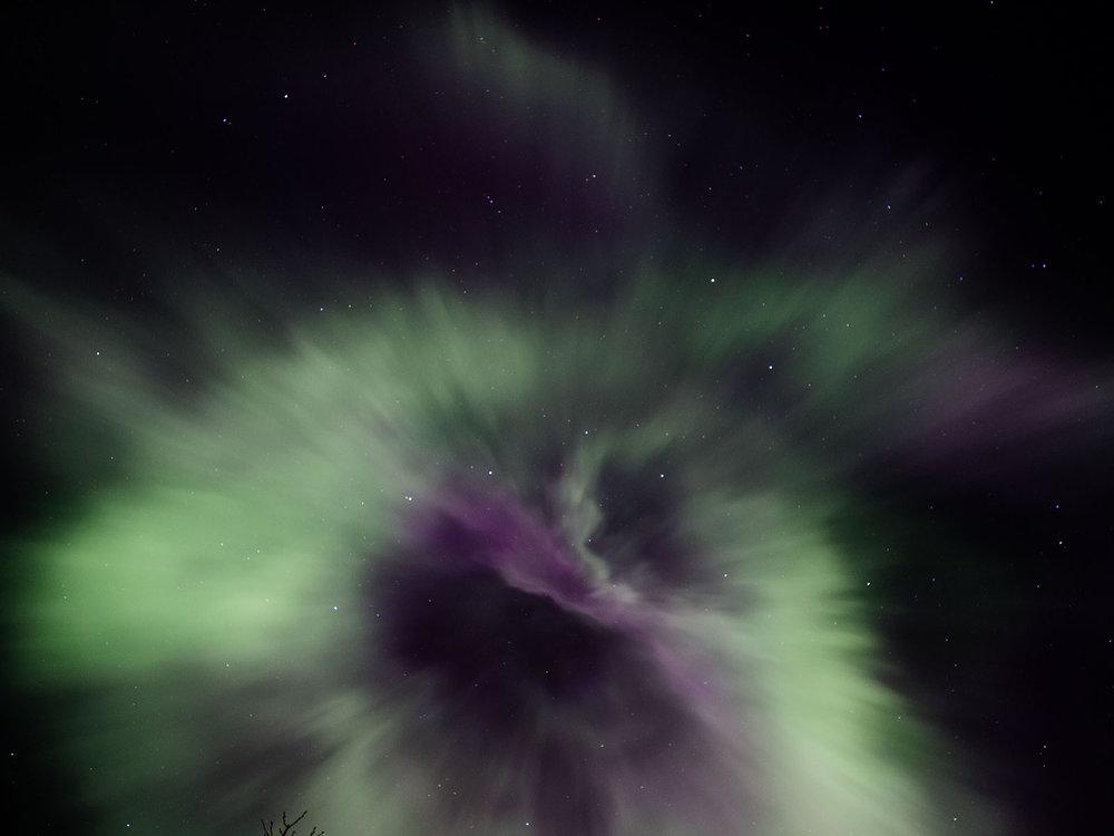 Northern Lights, Grímsnes, Iceland