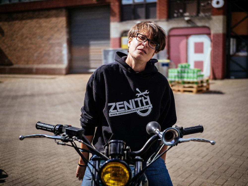 Karen Neill, founder and owner of Zenith in Tottenham