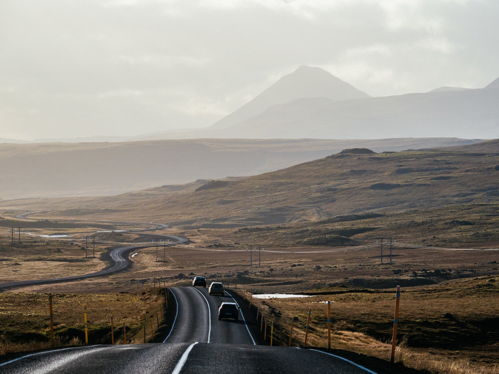 To Borgarnes 01, Iceland