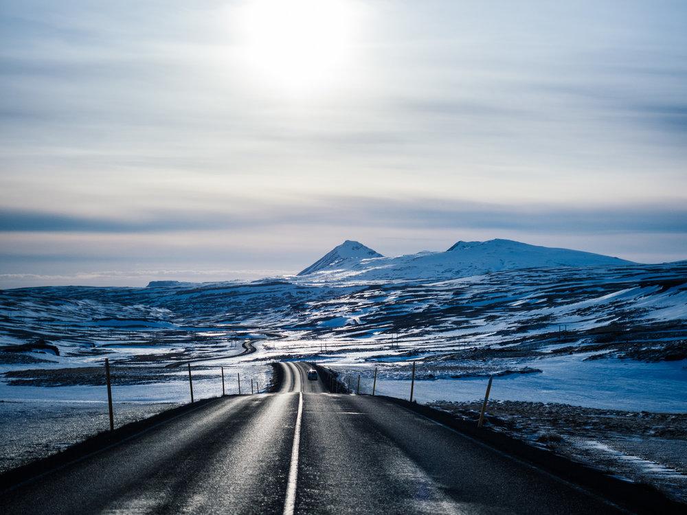 To Borgarnes 02, Iceland