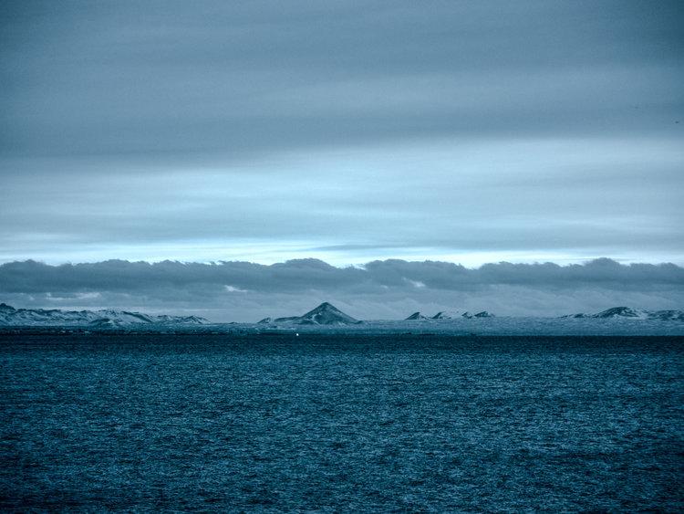 Mt Keilir seen from Hvalafjörður, Iceland