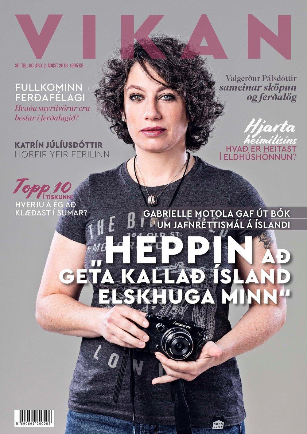 Interview in Vikan Magazine (Icelandic)