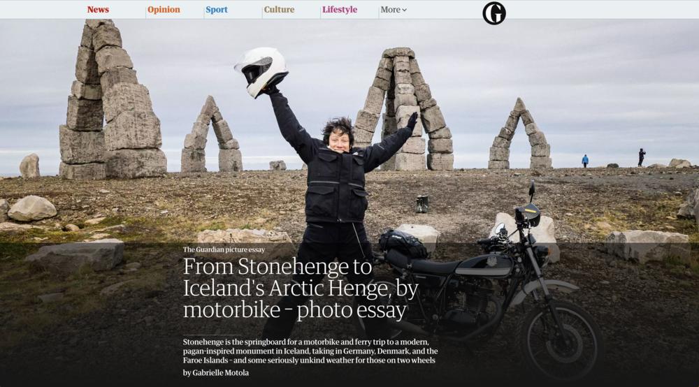 Henge to Henge: Guardian Travel Picture Essay