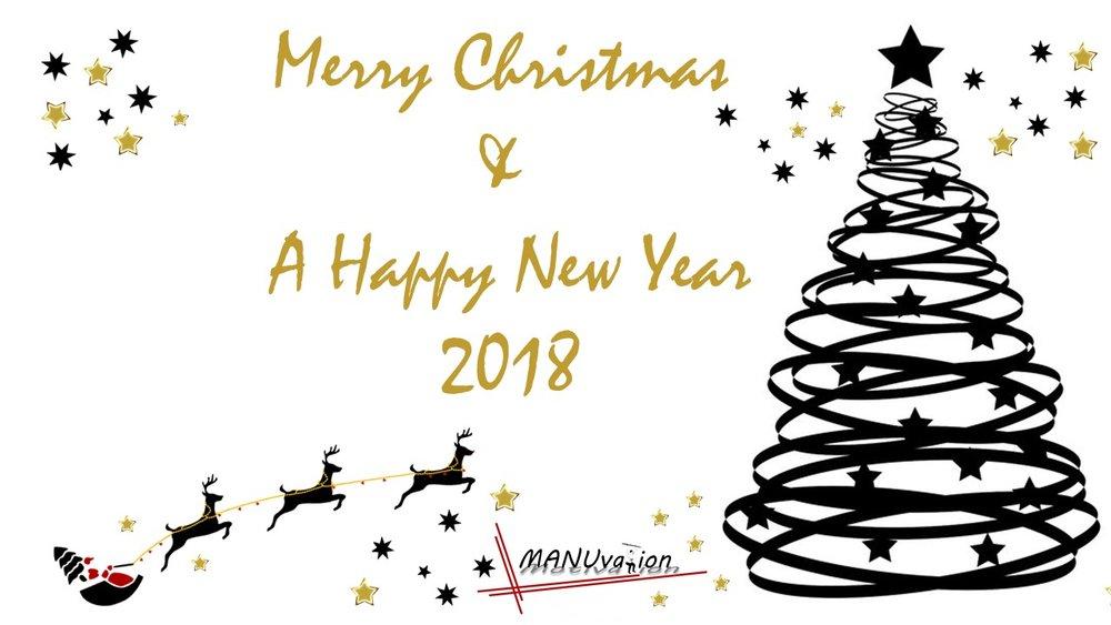 Frohe Weihnachten & Alles Liebe Im Neuen Jahr 2018 — Manuela Lang
