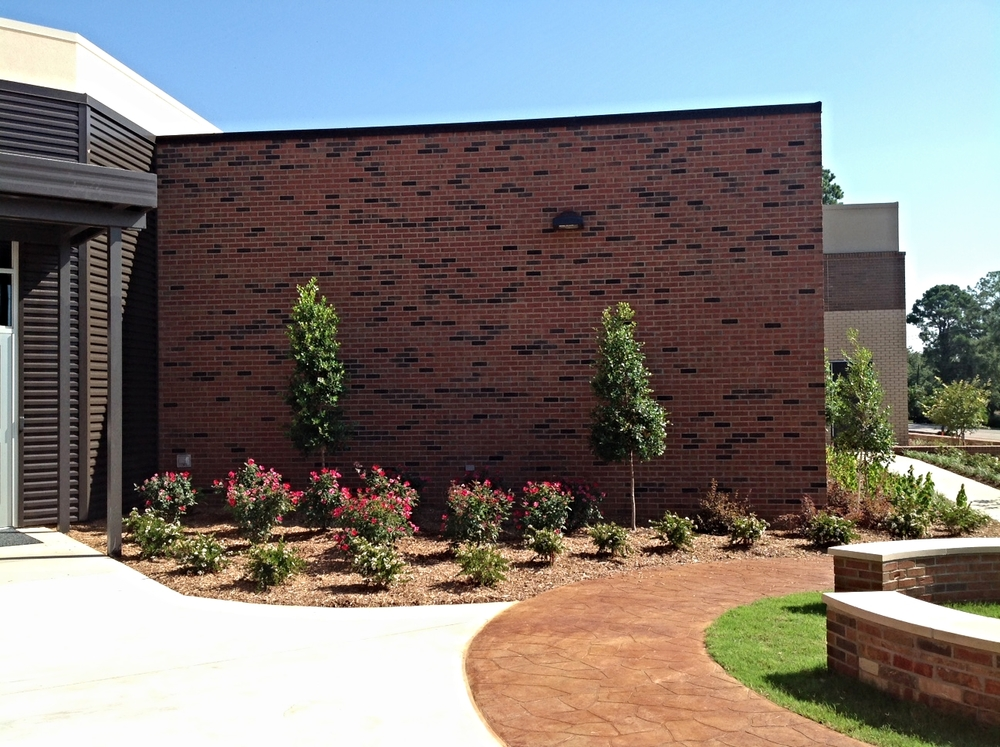 Commercial Landscape Bed