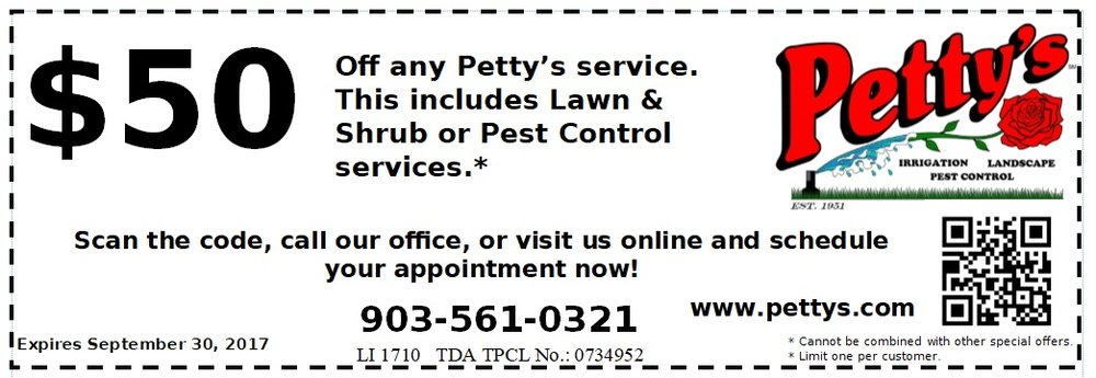 No need to print this coupon! As long as you submit your request here, it will be applied to your service.
