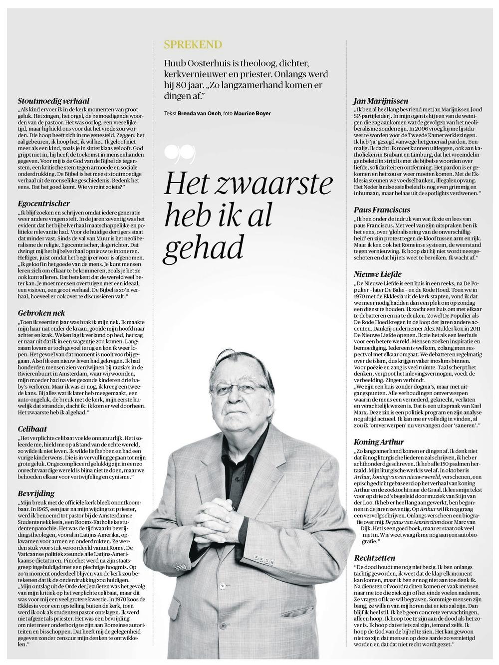 NRC Handelsblad - 4 januari 2014