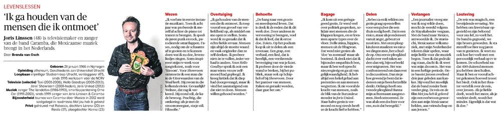 NRC Handelsblad - 29 maart 2014