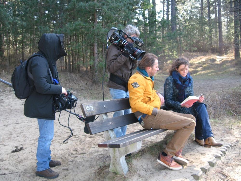 Filmopnames KRO De Wandeling