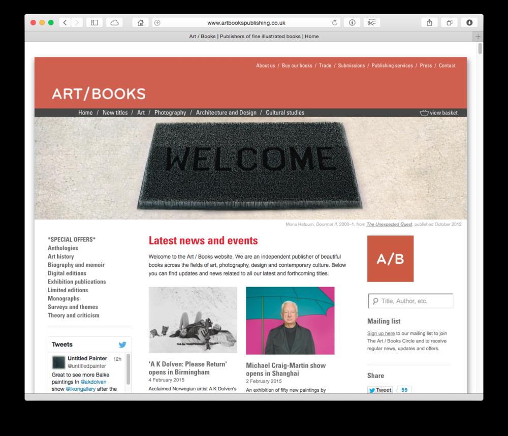 Art / Books publishing