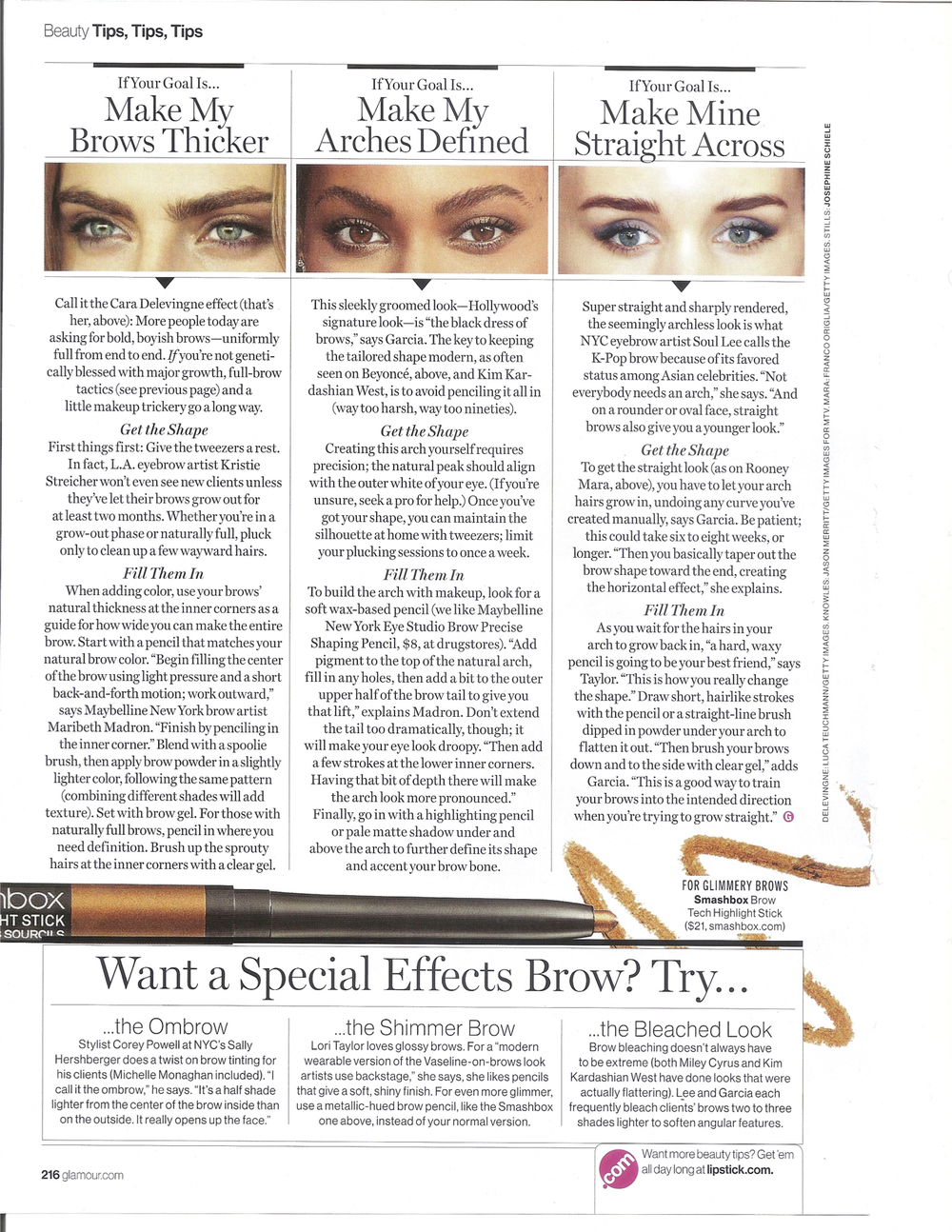 Glamour- Your Best Brows Ever, October 2015 pg3.jpg