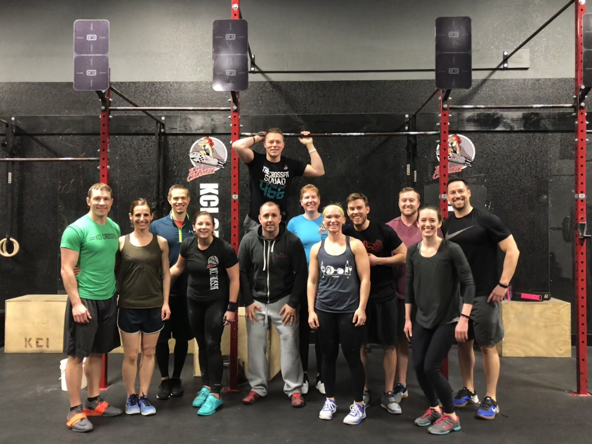 The Community at a CrossFit gym is a top benefit and reason so many people lose weight and get in shape with CrossFit