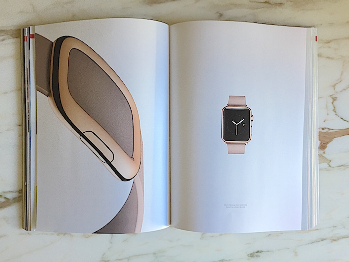 Photo from Vogue Insert, March 2015. 18Kt Gold watch