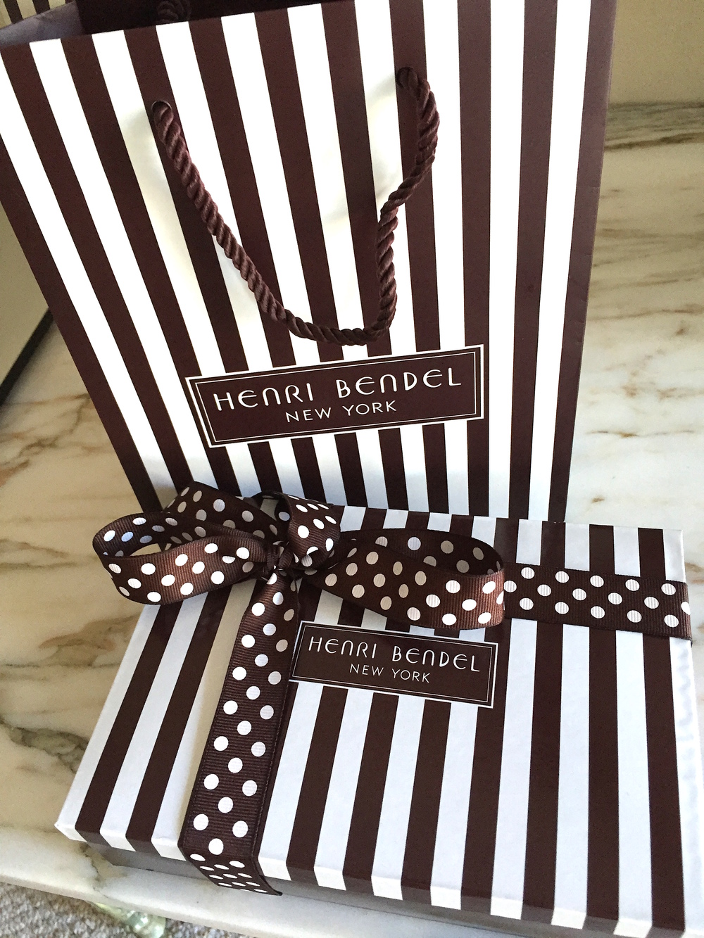 We bought a gift, and the wrapping was delightful. It shows the congruency that this luxury brand has and maintains beautifully. P.S. The service was superb!    Is Your Brand Package Remarkable and Reflective of Your Strategy?