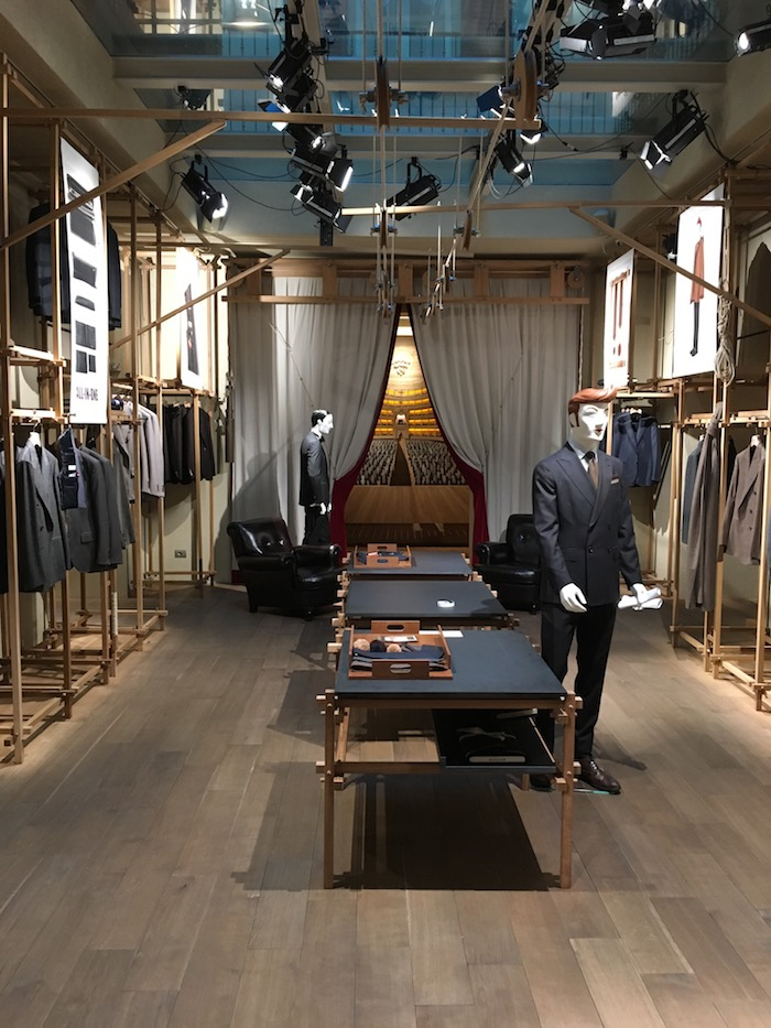 Caruso Flagship Store in Milan, Italy