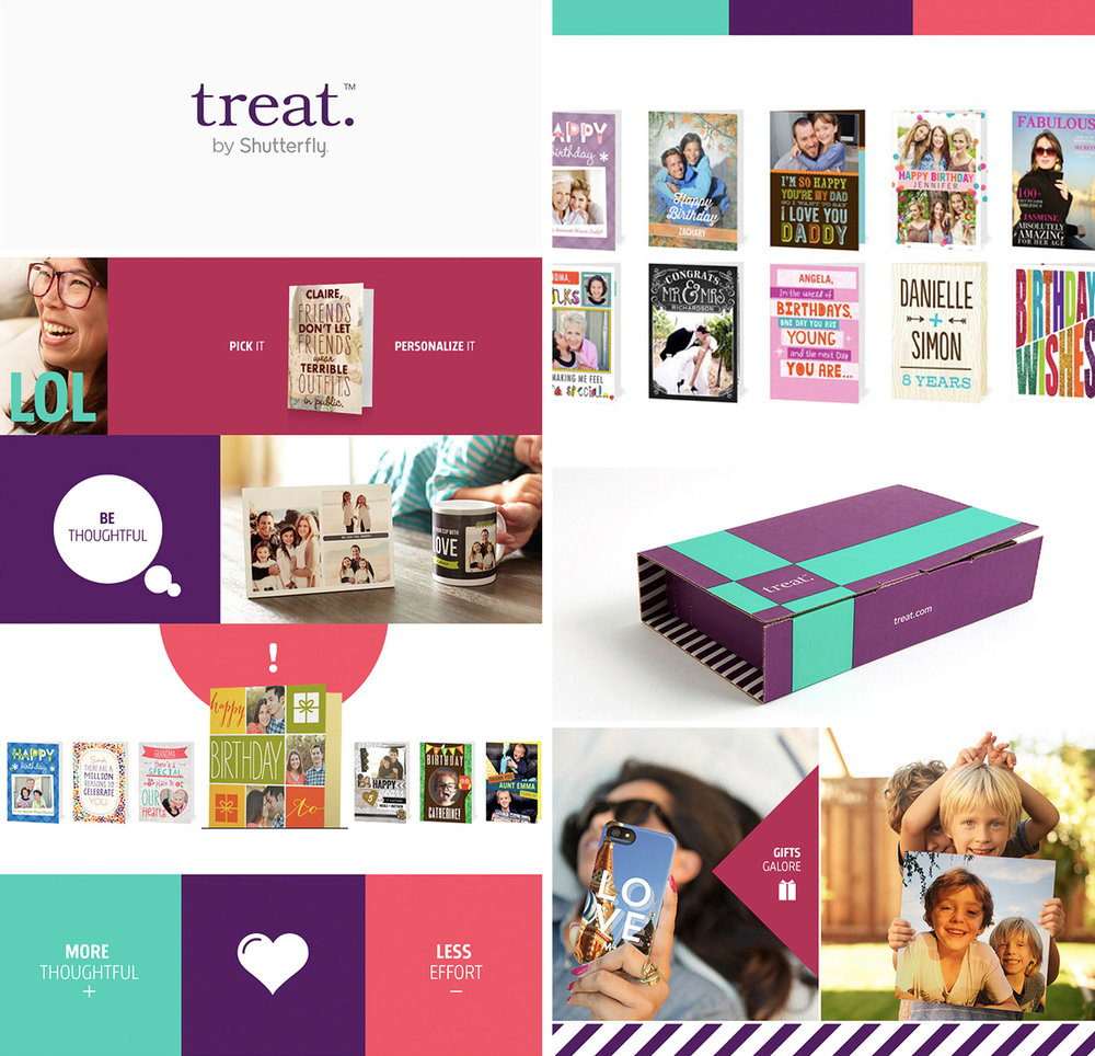 Brand Expression System - Visualizing the New Treat Brand
