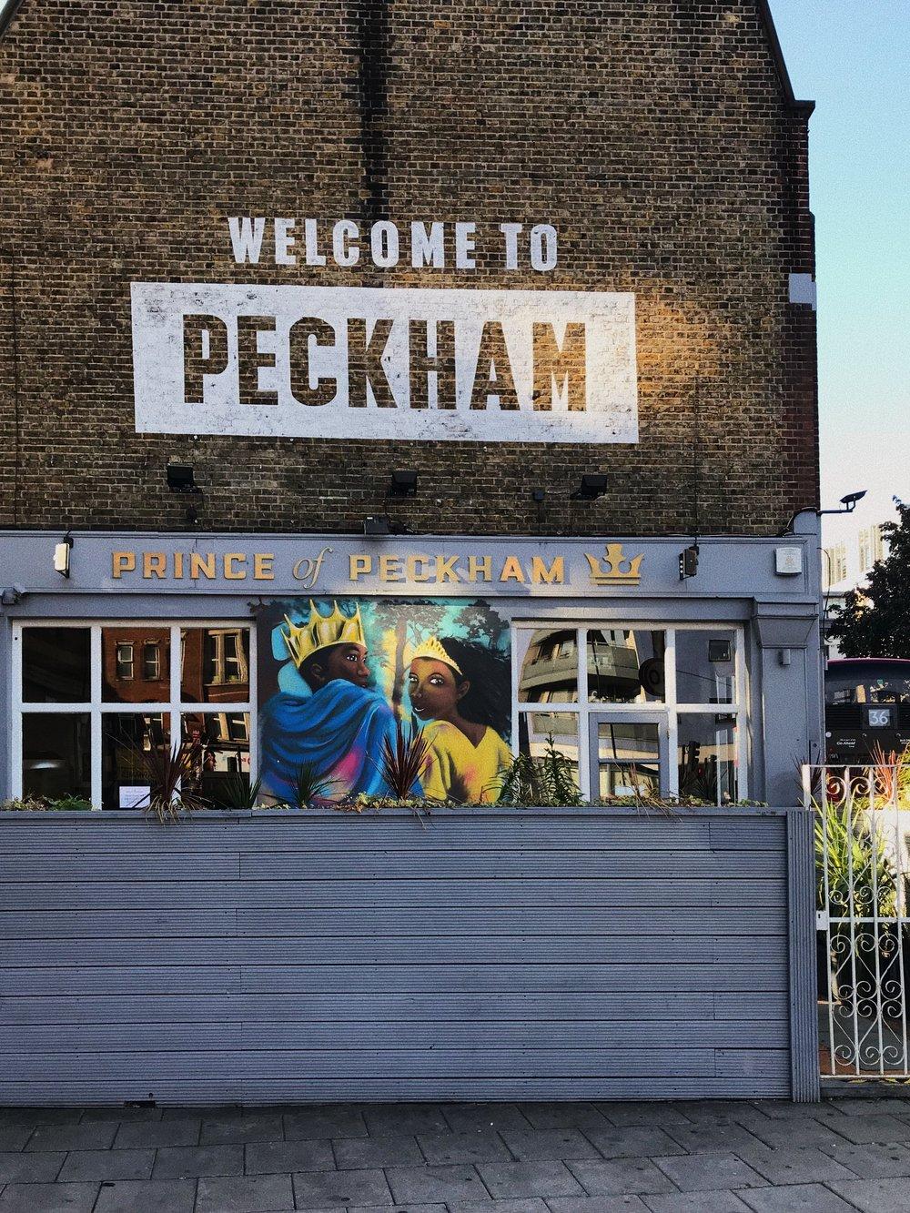 Prettiest bar in Peckham.