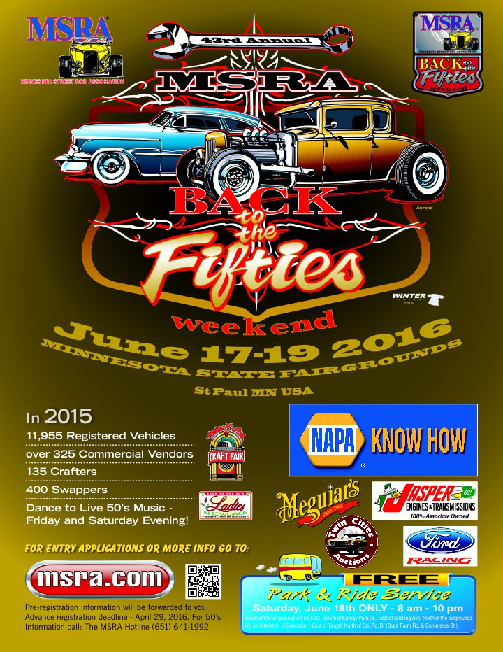 back to the fifties flyer