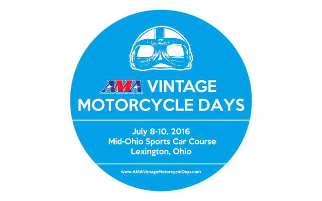 vintage motorcycle days 2016