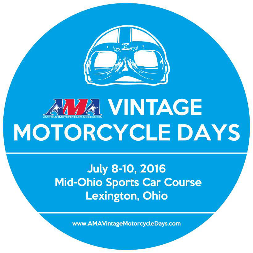 vintage motorcycle days round