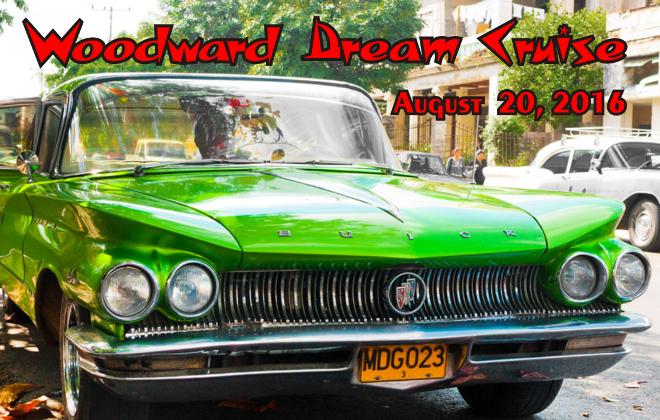 woodward dream cruise 2016