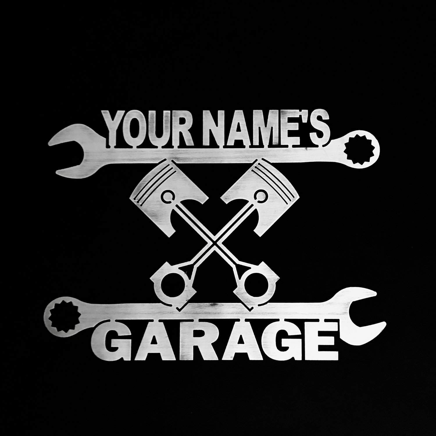il gallery garage for fullxfull signs corvette sign personalized images
