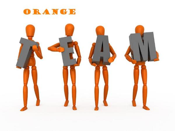I'm on Team Orange!