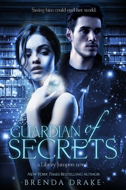 The gorgeous cover of Guardian of Secrets!