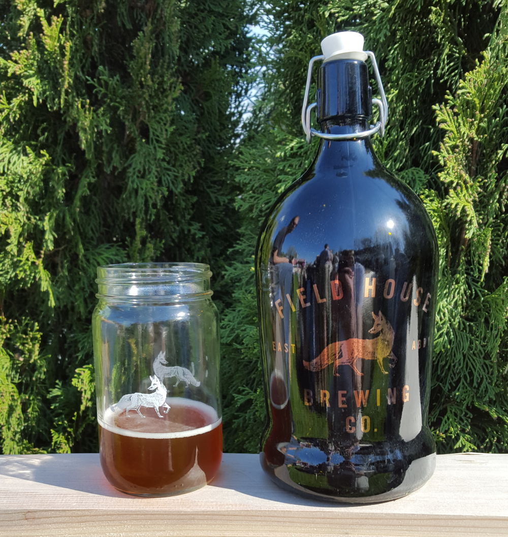 Field House Coolship Commons and their Limited Edition Copperplate Growler