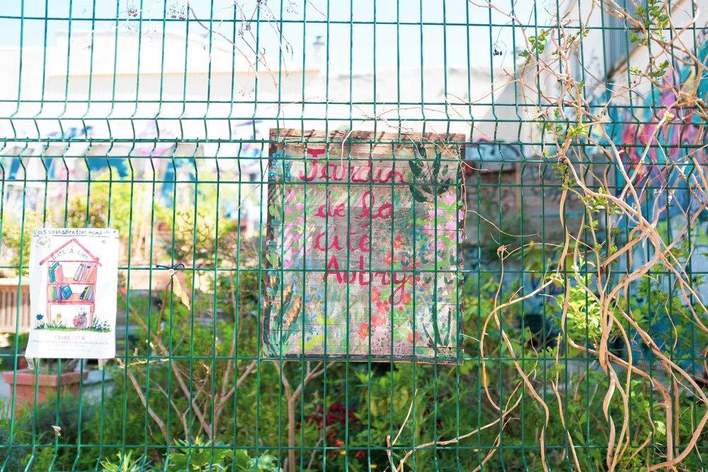 Jardin de la cité Aubry