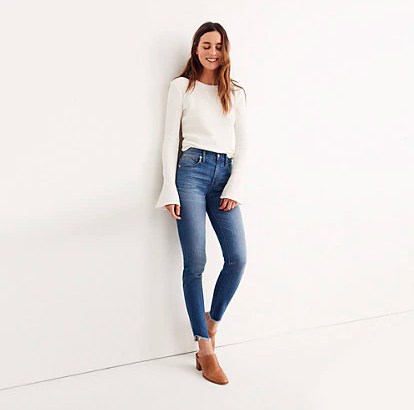 High Rise Madewell Denim
