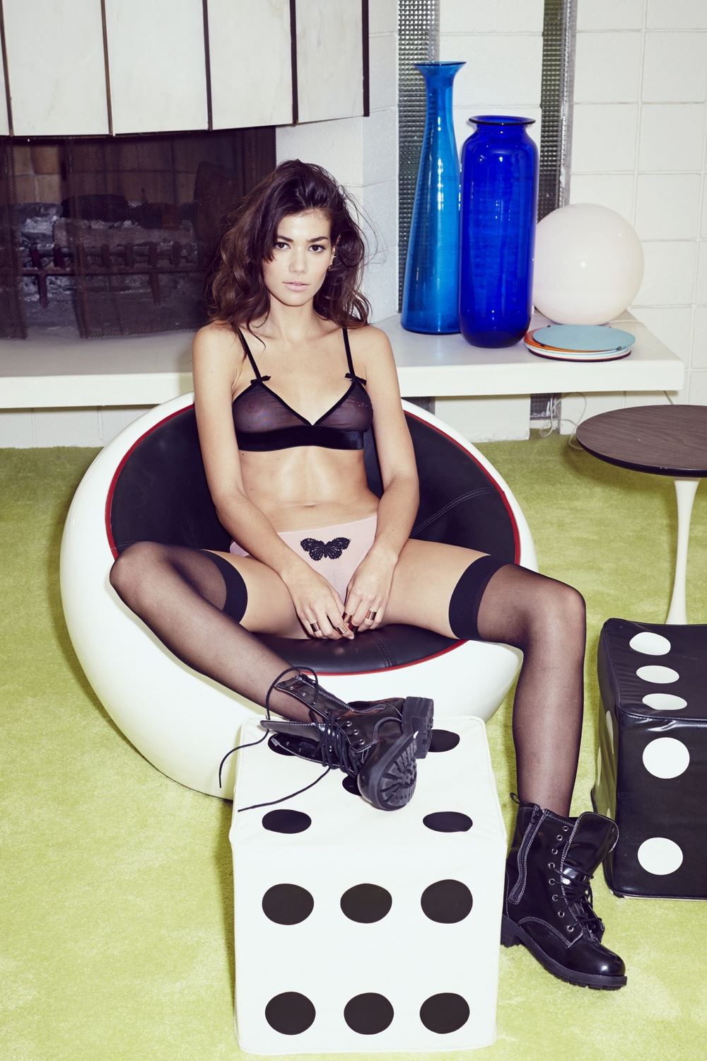 Skivvies debut collection holiday 2013 for love amp lemons