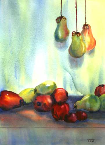 Pomegranits, Pears & Plums.jpg