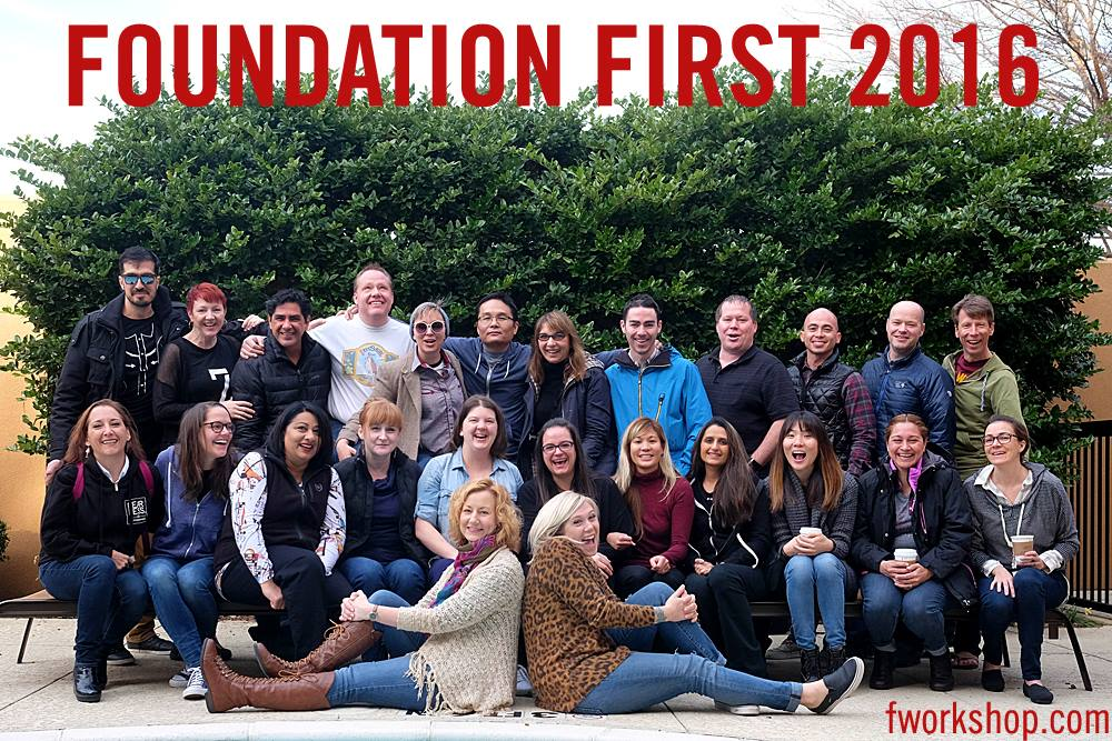 Super talented and loving mentors, staff, and students of FF 2016.  (Photo by Joe Appel)