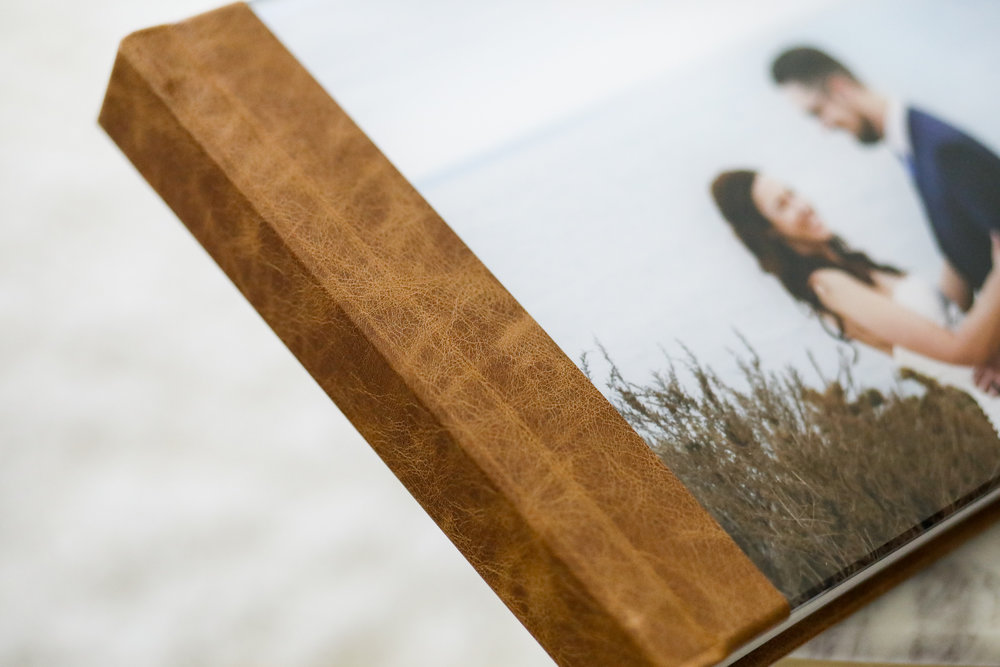 Gramercy English Brown Spine with Acrylic Cover with Image
