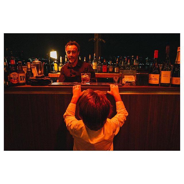 That skeptical look on bartender's face... 🤨 #weddingphotojournalism#kidsatweddings #longbeach#butfirst#bridestory#partytime#ringbearer#weddingfun#drinks#smartkid#startthemyoung
