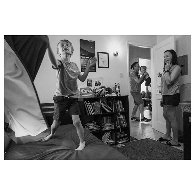 Cooper's rough play & obsession w/ his curtain.. #happythanksgivng#familyphotojournalism#familyfirst#bw_lover