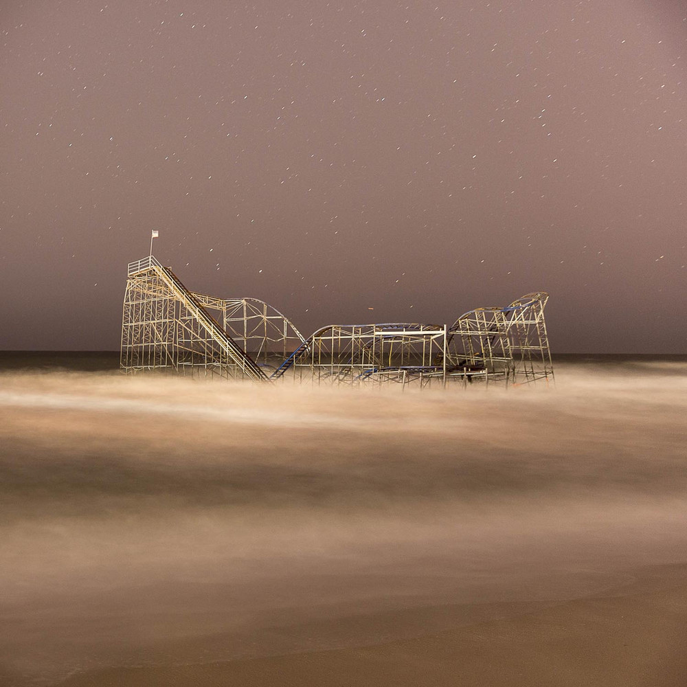 Ocean Roller Coaster, 2013 C Print 15 x 15 in.