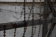 Barbed Wire 2  (Khmer Rouge Security Prison 21)  2012, 1 of 6 Museum Archival Digital C-Print 30 x 40 in.