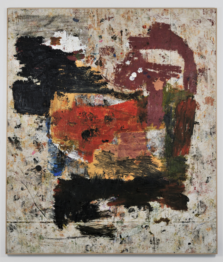 JOE BRADLEY  MASH POTATO, 2011  MIXED MEDIA ON CANVAS  77 X 90 IN  196 X 229 CM  NFS