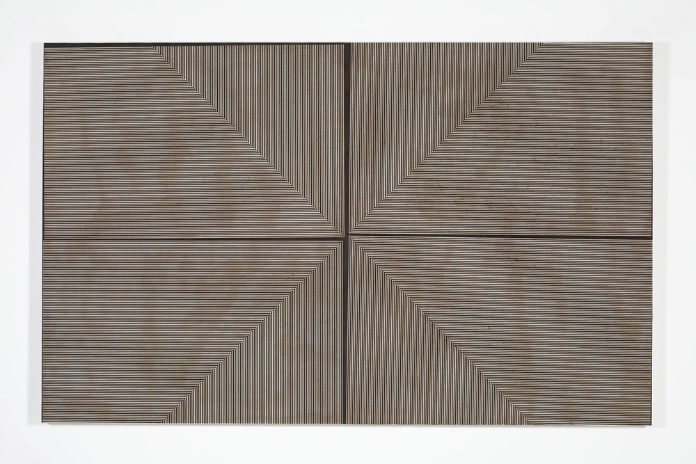 NED VENA  UNTITLED, 2008  ACRYLIC AND RUBBER ON LINEN  55 X 87 IN  139.5 X 223.5 CM  GBP 40,000
