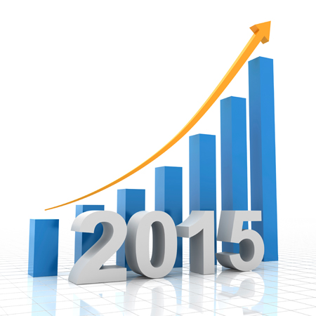 Jennifer Design 2015 growth chart icon