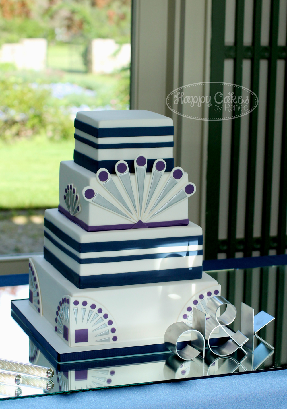 Gatsby Art Deco Wedding Cake 2W.jpg