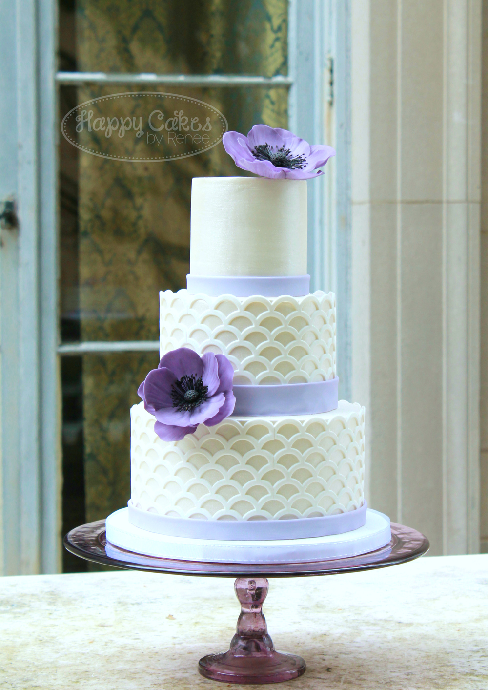 Purple Anemone & Scalloped Lattice 1W.jpg