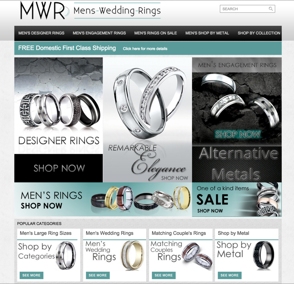 Mens-Wedding-Rings.com