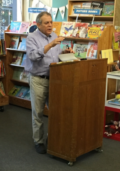 Speaking at Left Bank Books, St. Louis