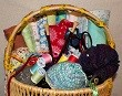 ANNA LINDSEY'S SEWING BASKET
