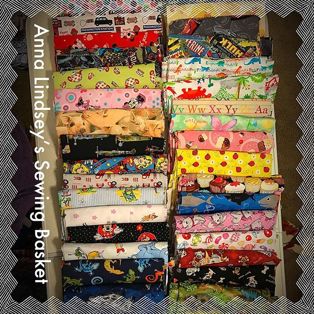 Fabric is all cut to make child size aprons!  They sell 15.00 ea ( +tx/shp). #handcrafted #handmadewithlove #homesewn #sewing #apron #children #gifts #cookingwithkids #annalindseysewing #clovisfest17