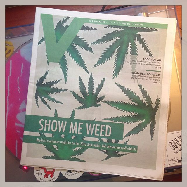 Now that it's break.... The Weed Issue arrives!! Better late than never!! #voxmagazine 👏🏽👏🏽👏🏽